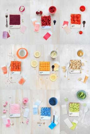"""Pantone & """"Palette Culinaire"""""""