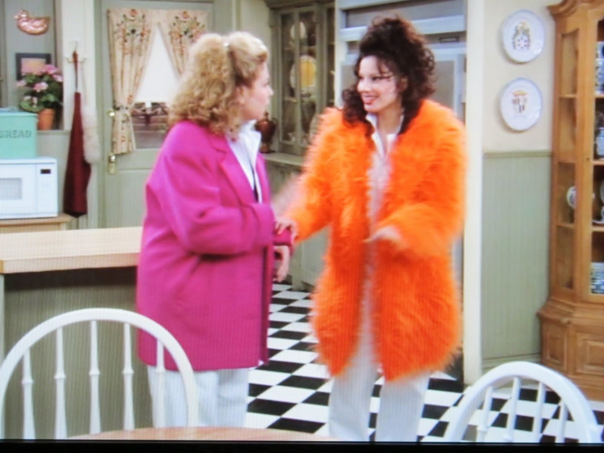 Fran Drescher: Fashion Icon of The Nanny