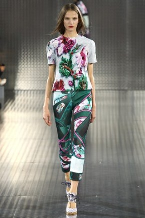 Print/Pattern trends for Spring/Summer 2014 – Fashion Weeks in Review